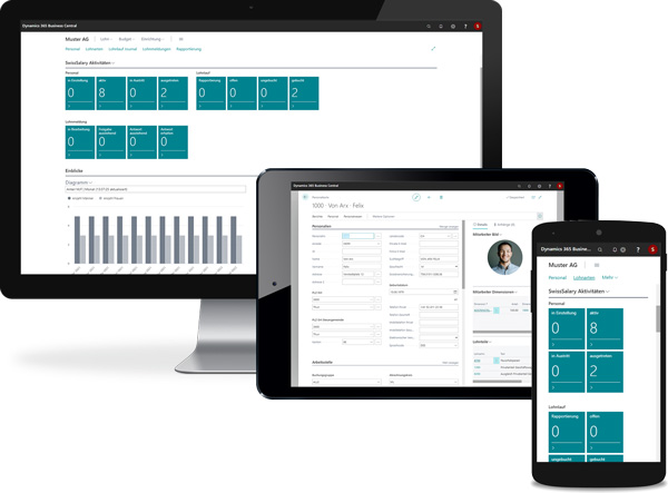 redPoint ERP Software Multi Device